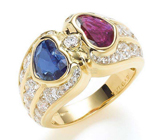 红宝石和蓝宝石的区别 红宝石和蓝宝石哪个贵