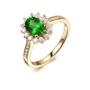 0.71克拉沙弗莱 32分钻石戒指
