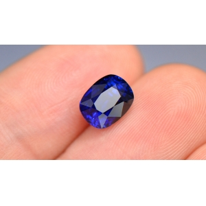 GRS证书 3.01克拉无烧皇家蓝蓝宝石