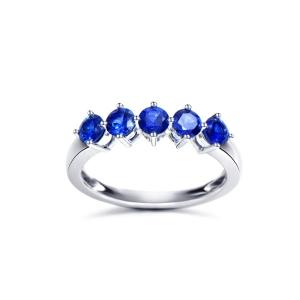 1.19克拉蓝宝石戒指