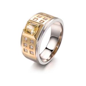 1.060克拉蓝宝石 36分钻石戒指